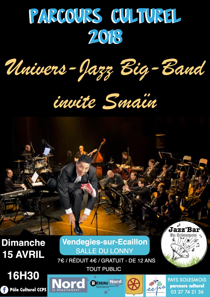 SPECTACLE UJBB invite SMAIN AVRIL 2018